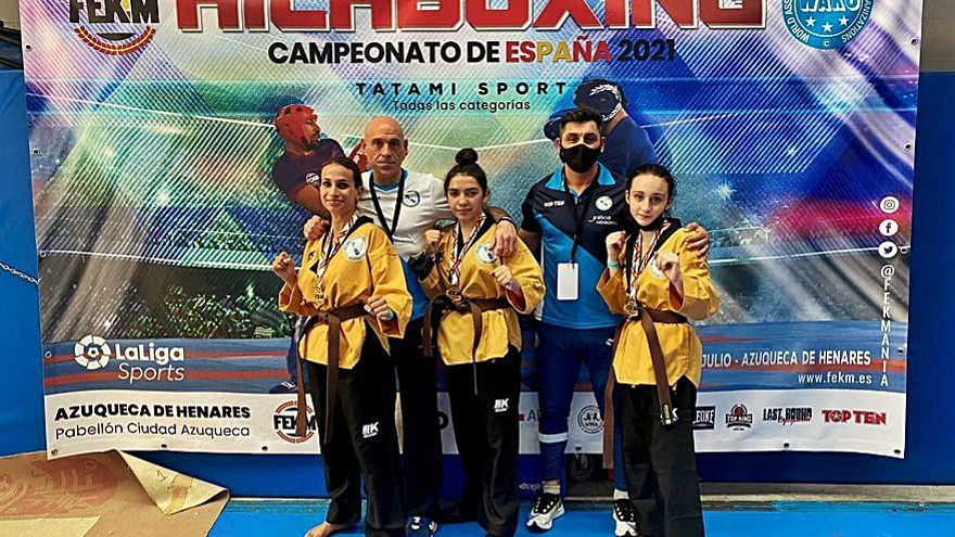Una veintena de medallas para el ABP Pontevedra