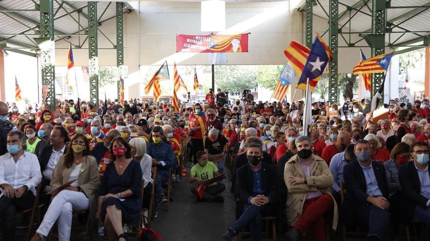 El soberanismo conmemora unido el 1-O emplazándose a recuperar la unidad