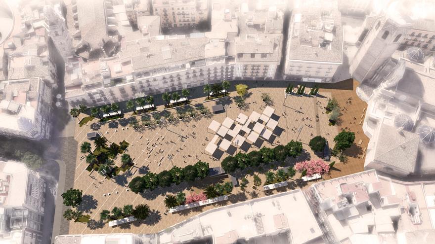 El Tribunal de Recursos Contractuales desbloquea la reforma de la Plaza de la Reina