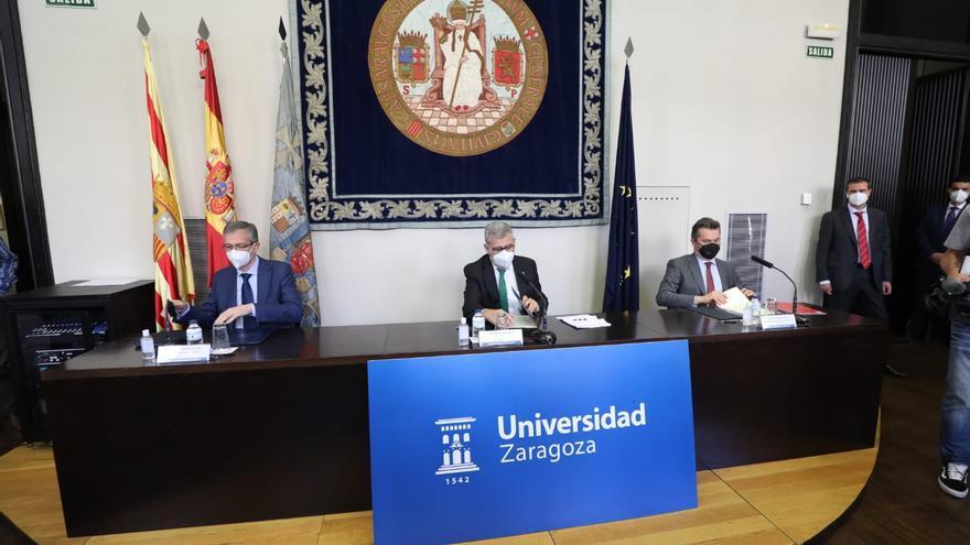 Firmado el acuerdo para impulsar la educación financiera en Aragón