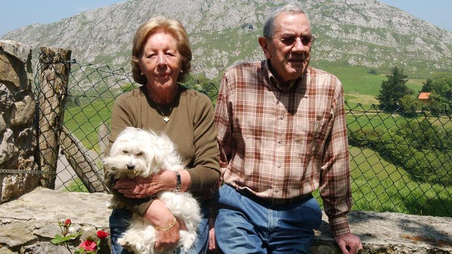 Así contó Menchú Álvarez del Valle la boda de su nieta a LA NUEVA ESPAÑA