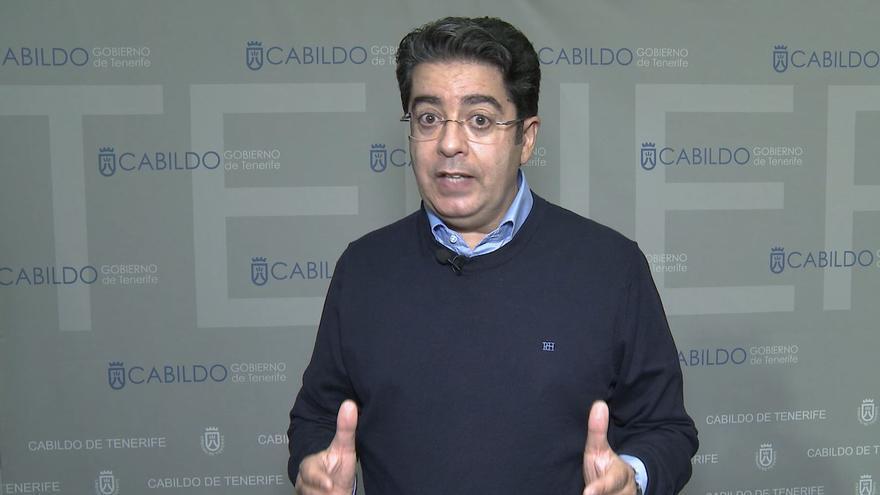 Pedro Martín, presidente del Cabildo de Tenerife, defiende las restricciones en la isla aplicadas por el Gobierno de Canarias