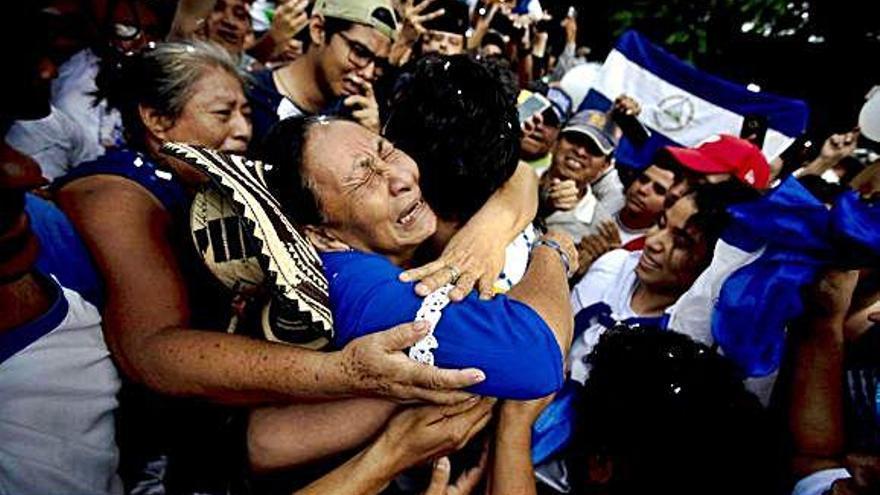 Ortega libera a los líderes de las protestas contra su Gobierno en Nicaragua