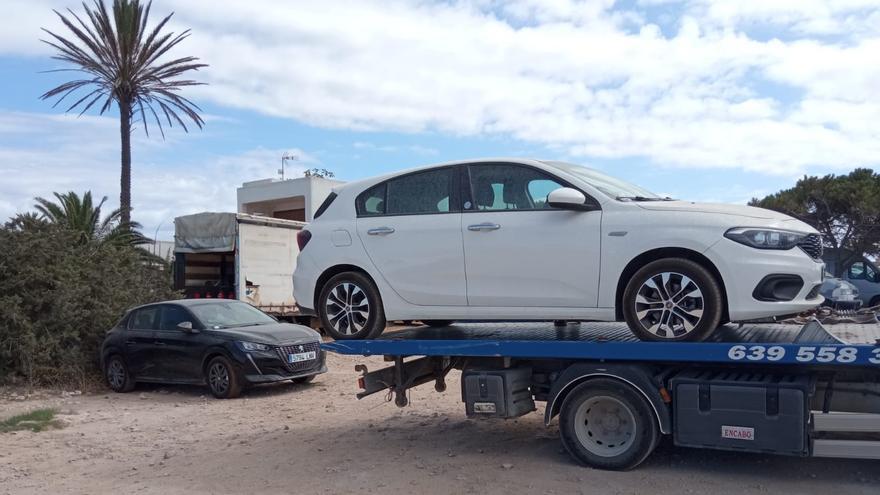 Formentera sanciona en julio a 11 coches de alquiler que no tenían autorización para circular por la isla