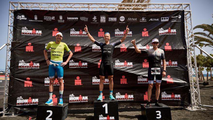 Andi Boecherer y Michelle Vesterby, ganadores del XXIX Ironman Lanzarote