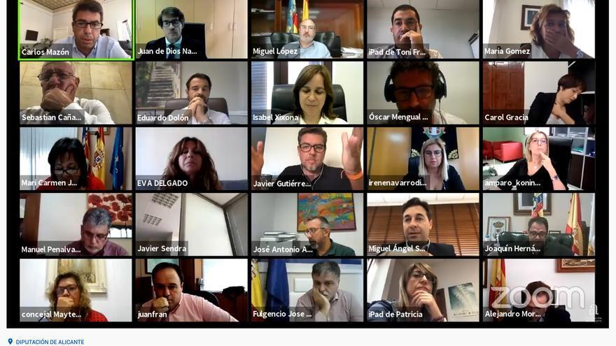 PP y Cs cierran filas en la Diputación ante el acercamiento de Toni Cantó al PSOE