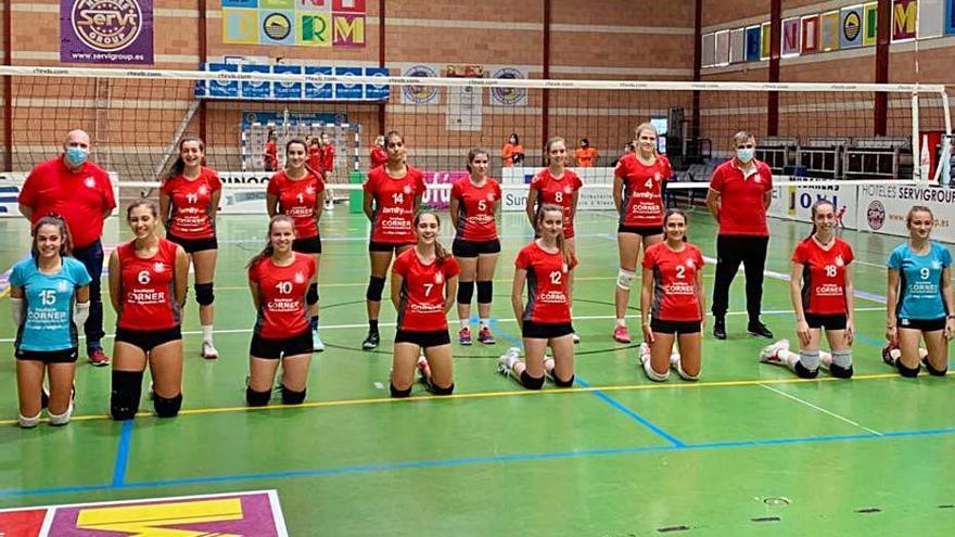 Los juniors del Voleibol Xàtiva comienzan la liga con victoria