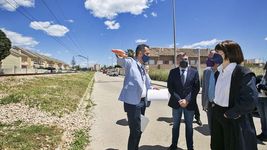 Gandia impulsa un plan para integrar infraestructuras entre la ciudad y el Grau