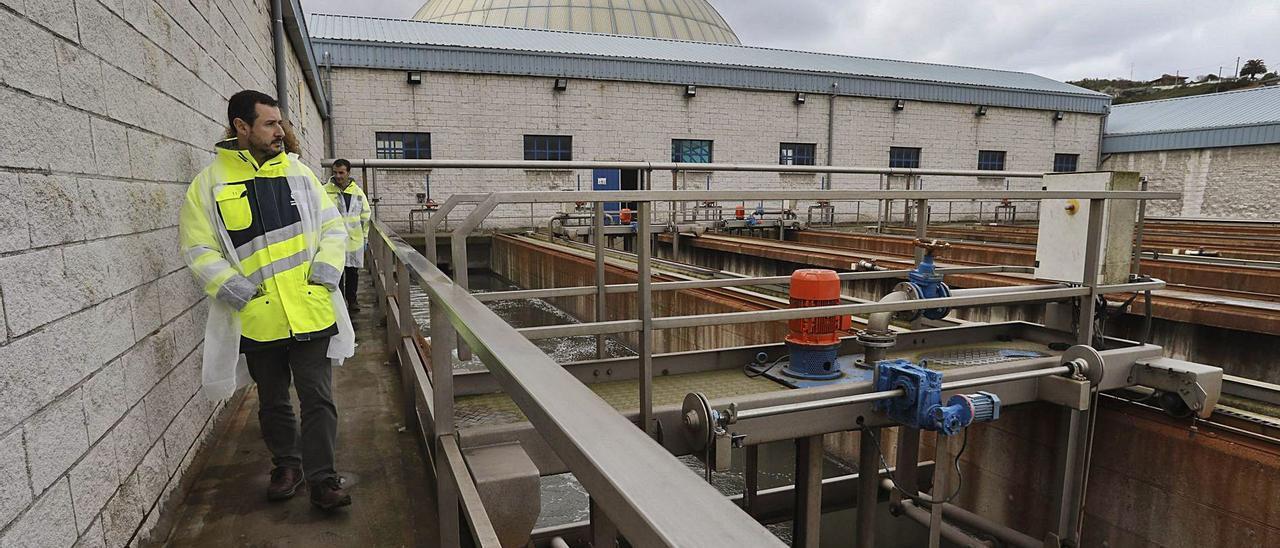 Instalaciones de la Estación Depuradora de Aguas Residuales (EDAR) de Maqua. | Ricardo Solís