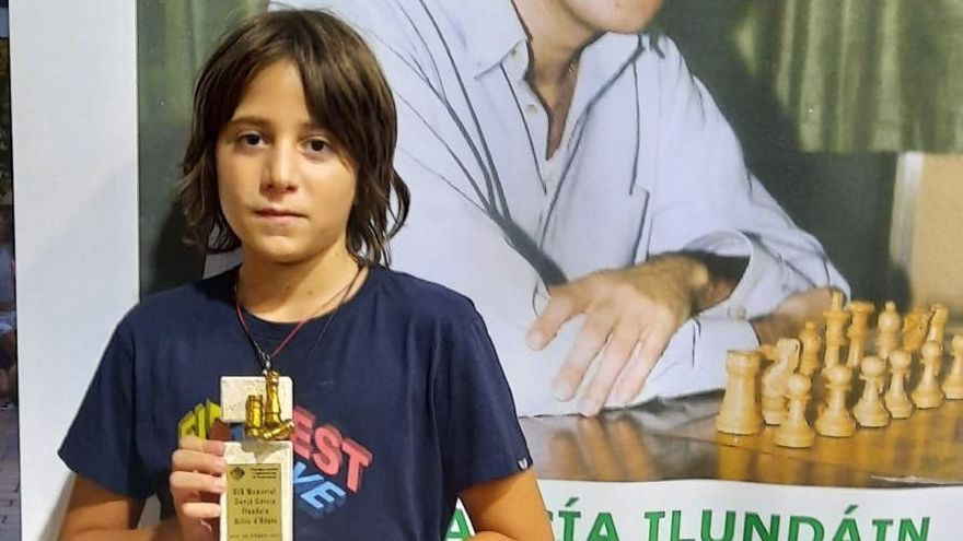 Hugo Uber obté el segon lloc en la categoria sub-12 del Campionat de Catalunya d'escacs