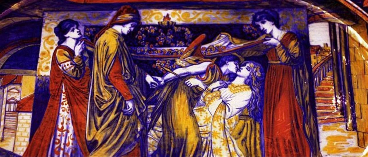 Dante se enamoraba de Beatriz para siempre, tan gentil y tan honesta.