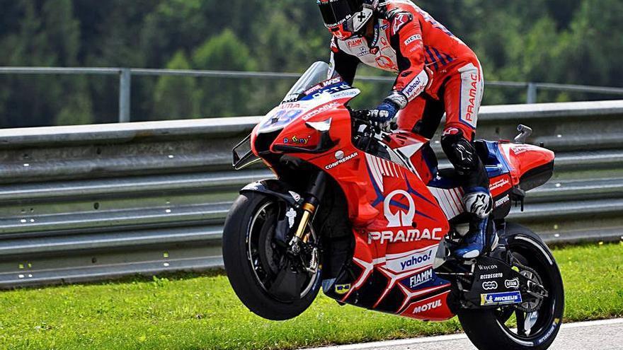'Martinator' repite primera posición en parrilla en el Gran Premio de Austria