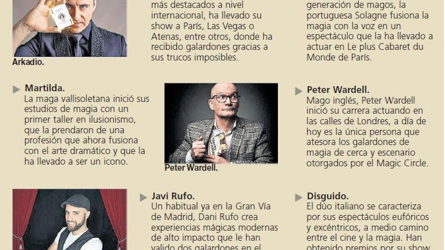 La XXVIII edición de las Jornadas Internacionales de Magia regresa a Zamora