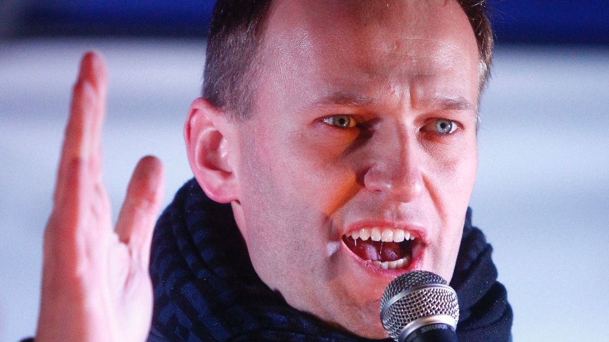 El opositor ruso Alexei Navalni
