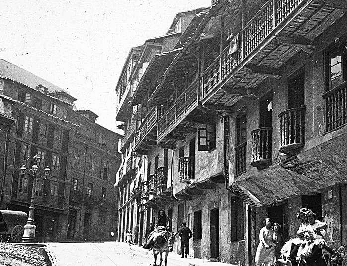 La plaza del Sol en 1920.