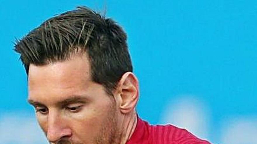 Messi y Coutinho ya trabajan con el grupo azulgrana