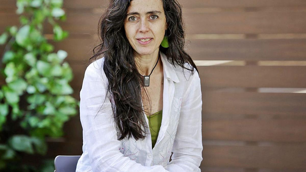 Mònica Roca, presidenta de la Cambra de Comerç a Barcelona, durant l'entrevista. | SUSANNA SÁEZ/EPC