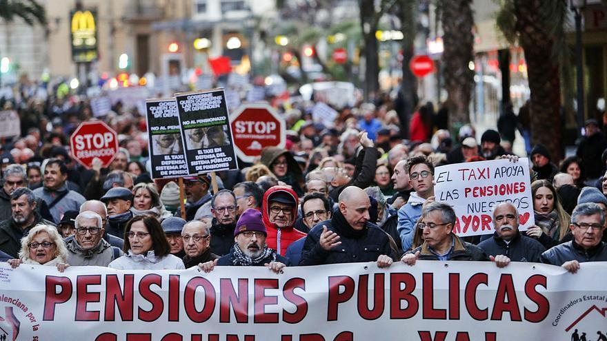 El 72 % de los  'millennials' valencianos ve en peligro su pensión