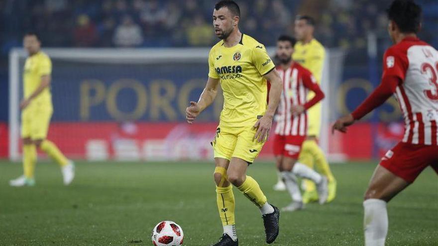 """Javi Fuego: """"Tenía ganas de volver a jugar con el Villarreal tras casi siete meses"""""""