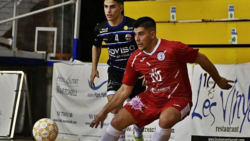El Sala 5 Martorell supera a la represa el Covisa Manresa en un partit tàctic