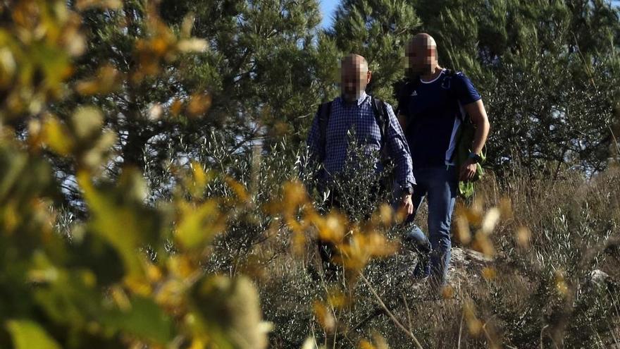 La Guardia Civil peina el monte entre Manuel y l'Olleria en busca de Marta Calvo