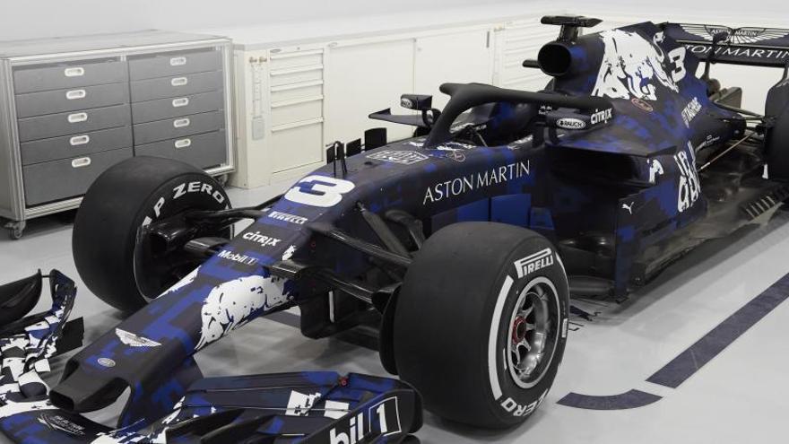 Red Bull descubre el nuevo RB14, con el que quiere volver a reinar en la F1