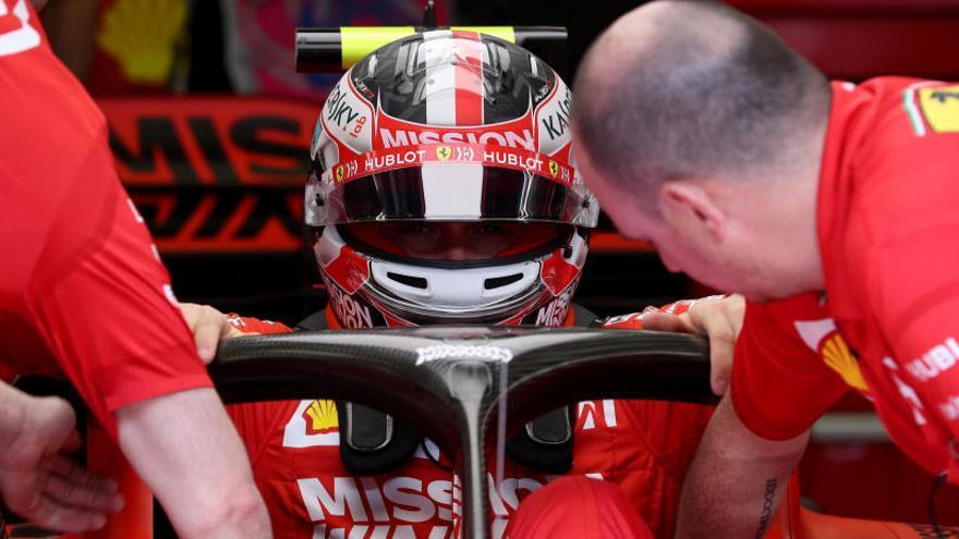 Los Ferrari, por delante de los Mercedes en el último entrenamiento libre