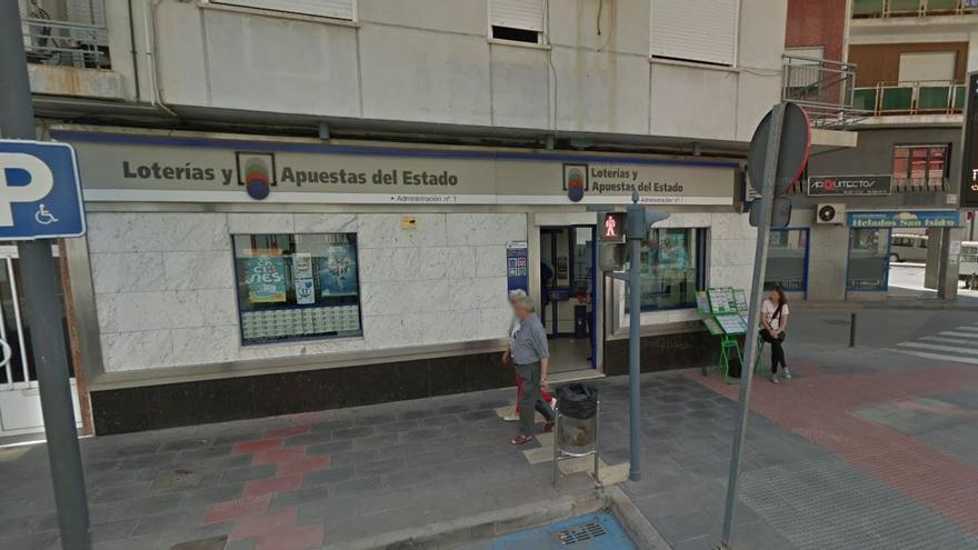 El Cupón de la ONCE deja 390.000 euros en Callosa del Segura y Dénia