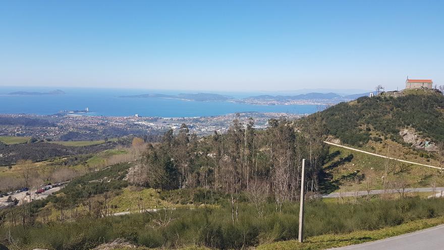Miradores de Vigo | Montes Alba y Cepudo