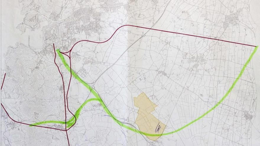Los vecinos proponen el AVE por Los Camachos  y que bordee la ciudad