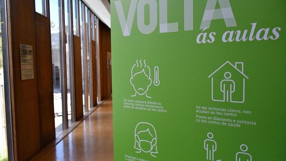 A Universidade de Vigo arranca o curso apostando pola prevención e pola seguridade da comunidade universitaria