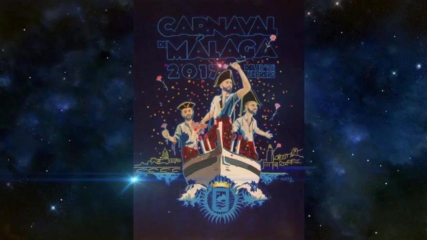 Así es el cartel del Carnaval de Málaga de 2017