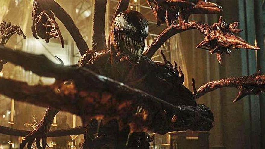 El més nou de Venom: un film on els personatges viuen en simbiosi