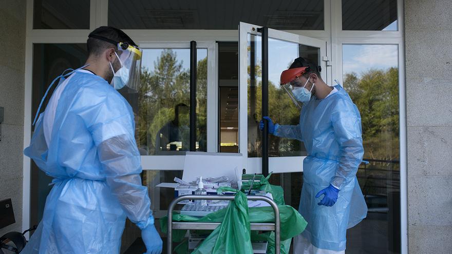 La residencias gallegas siguen registrando nuevos positivos de coronavirus