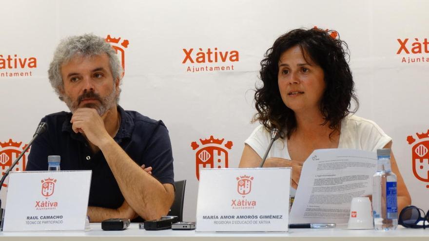 Els alumnes de Xàtiva demanen un parc inclusiu d´aventures i la creació d´àrees de Wifi gratuït