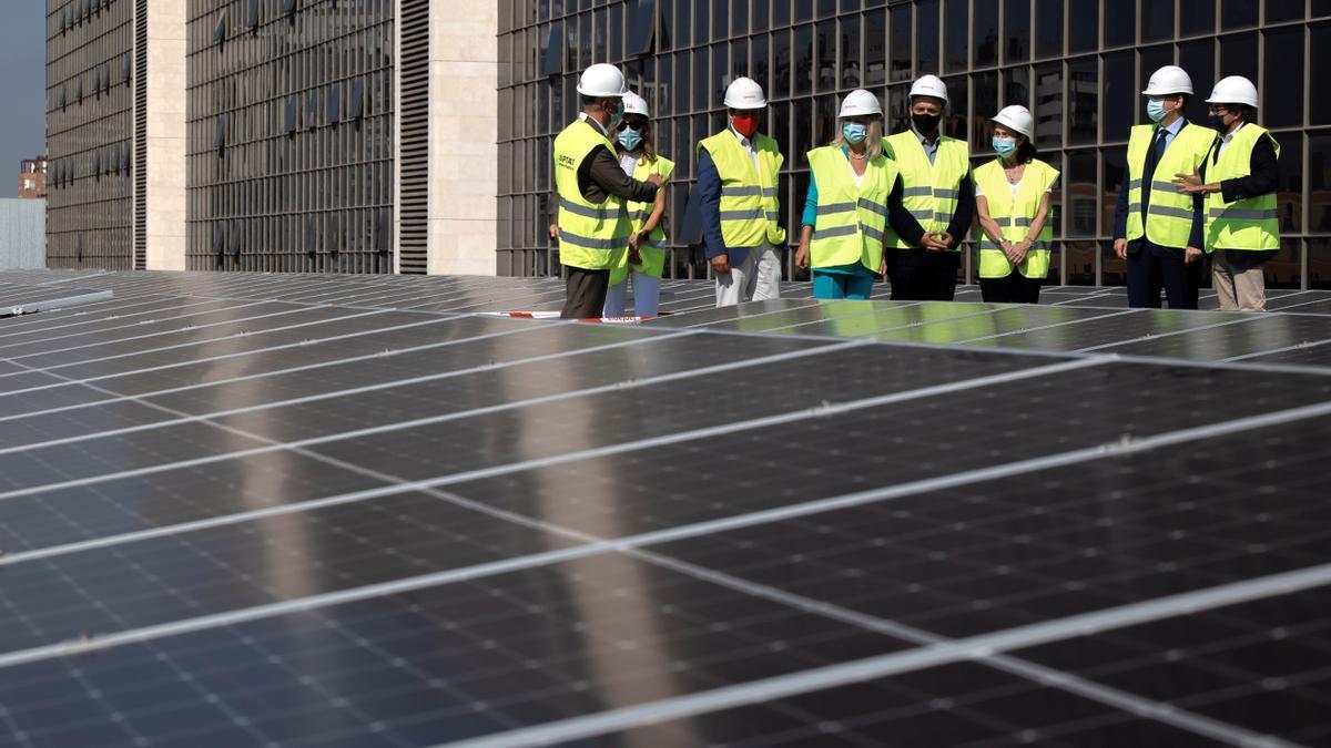 Puig en la presentación del Pla de ed Eficiencia Energética de les seus judicials