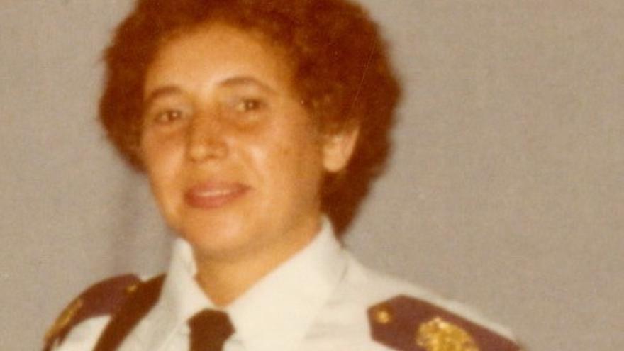 Muere Lina Delgado Medina, primera mujer policía local de Gáldar y Canarias