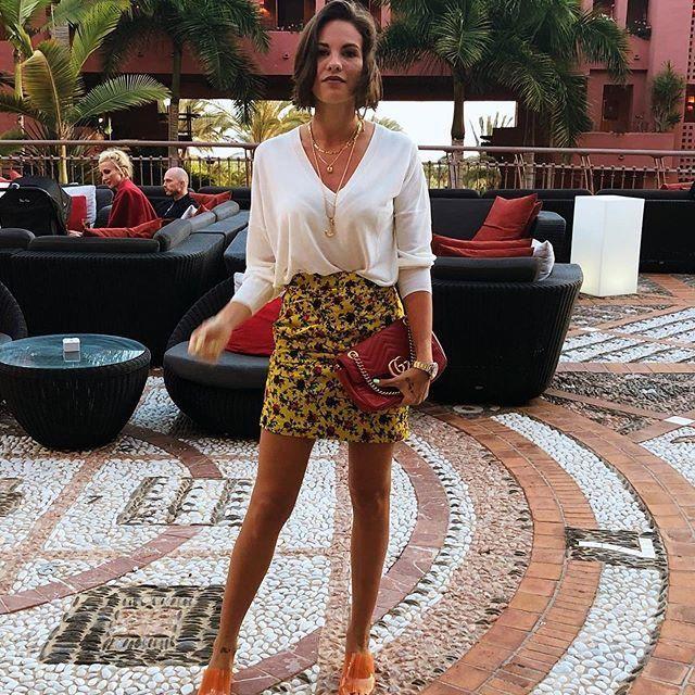 Jessica Bueno, de vacaciones en Tenerife