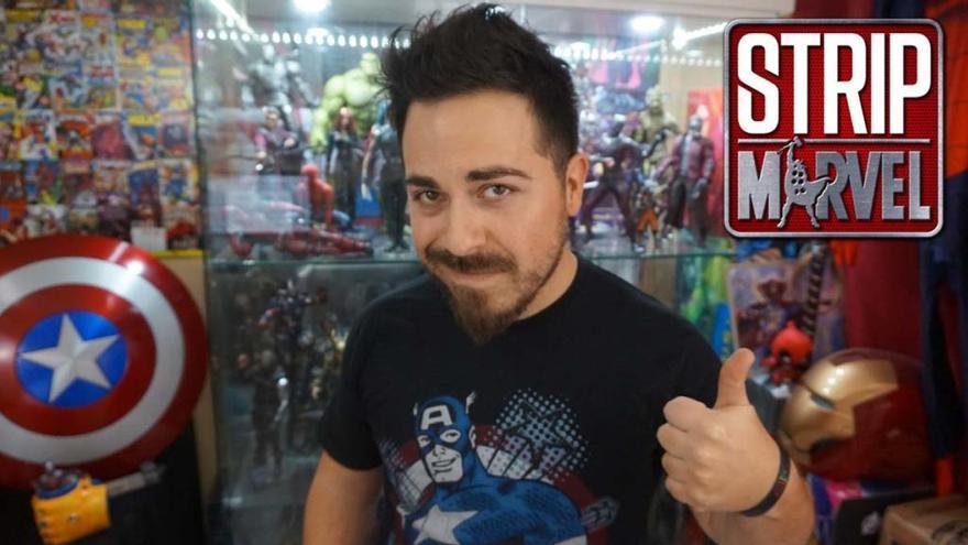 El youtuber Dani Lagi parla de la Marvel als Cinemes Las Vegas de Figueres
