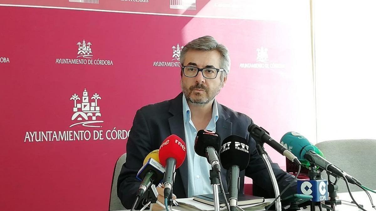 Miguel Ángel Torrico, portavoz del PP en el Ayuntamiento de Córdoba.