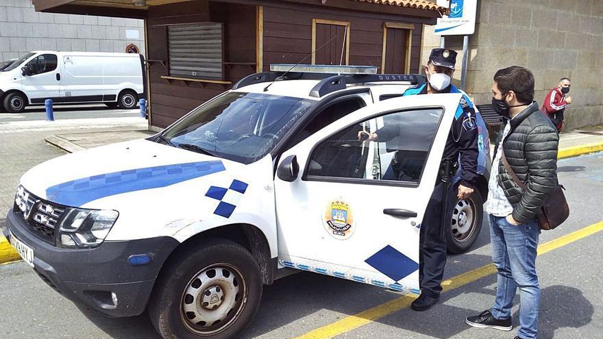 La Policía de Bueu da el salto digital