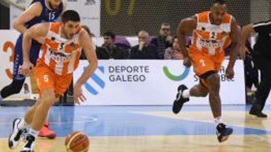 El Básquet Coruña solicita un ERTE que afecta al equipo que compite en LEB Oro