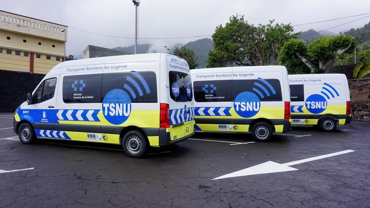 Las ambulancias no urgentes trasladaron a 367.242 pacientes a centros sanitarios canarios