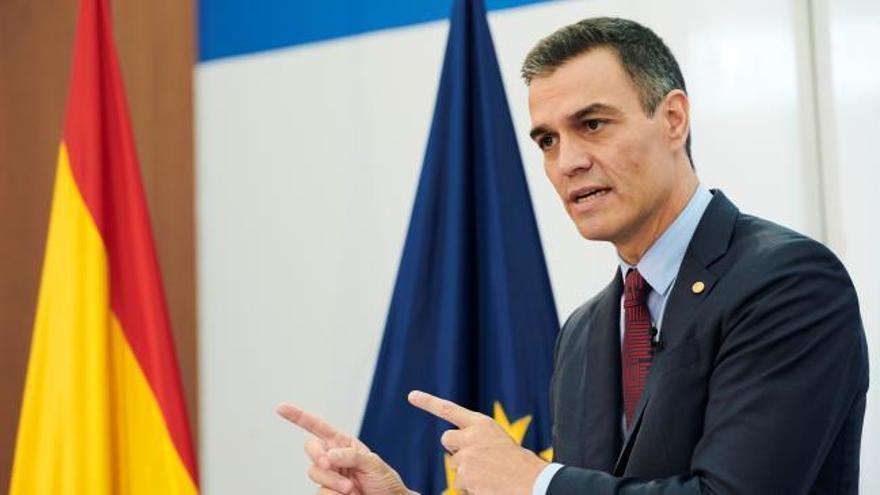 """Sánchez: """"Yo no reclamo un apoyo ciego a nuestras políticas, pero sí una colaboración mínima en beneficio de nuestro país"""""""
