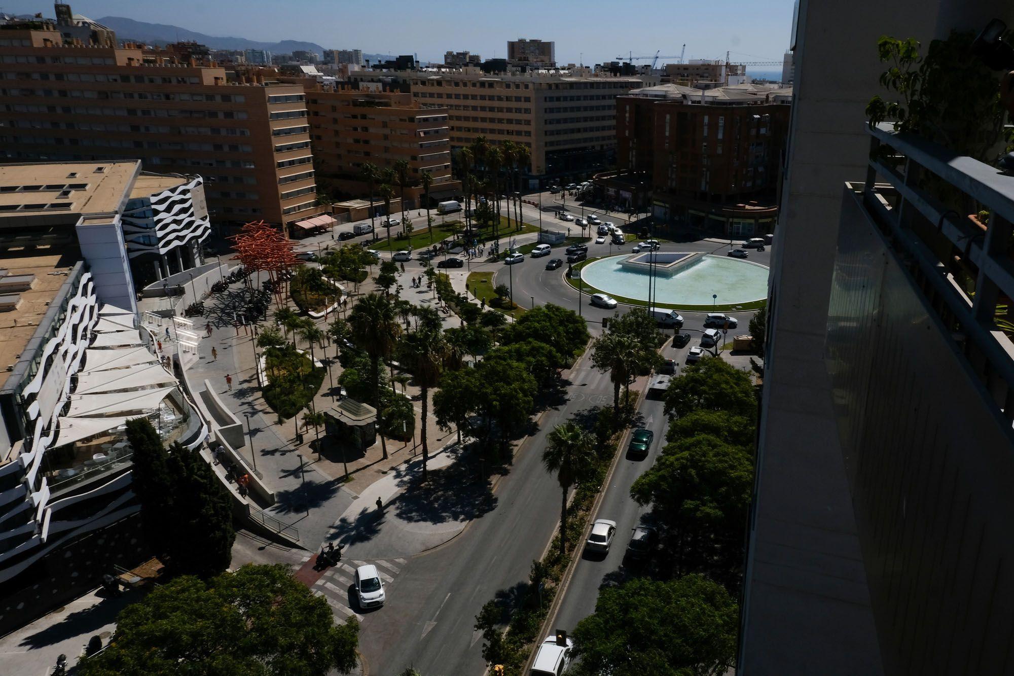 Inauguración de la nueva fuente de la plaza de la Solidaridad