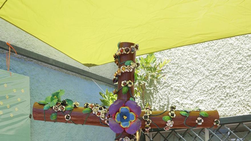 Ganadores y participantes en las cruces escolares de las Fiestas de Mayo de 2021 en Santa Cruz de Tenerife