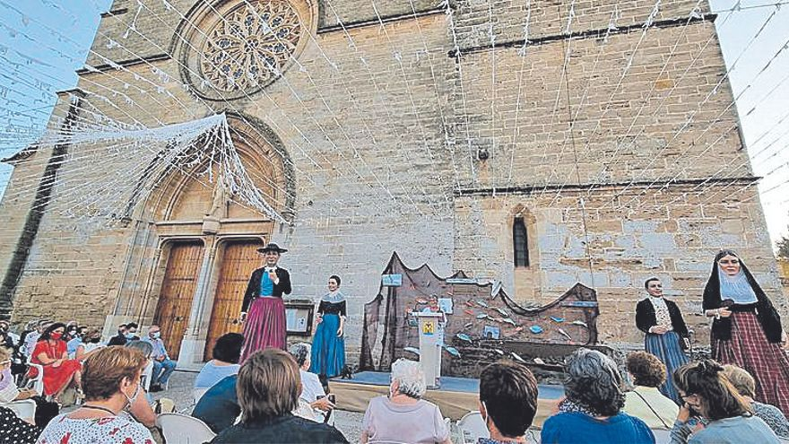 El pregón de la maestra Apol·lònia Ballester inicia las fiestas de Sant Jaume