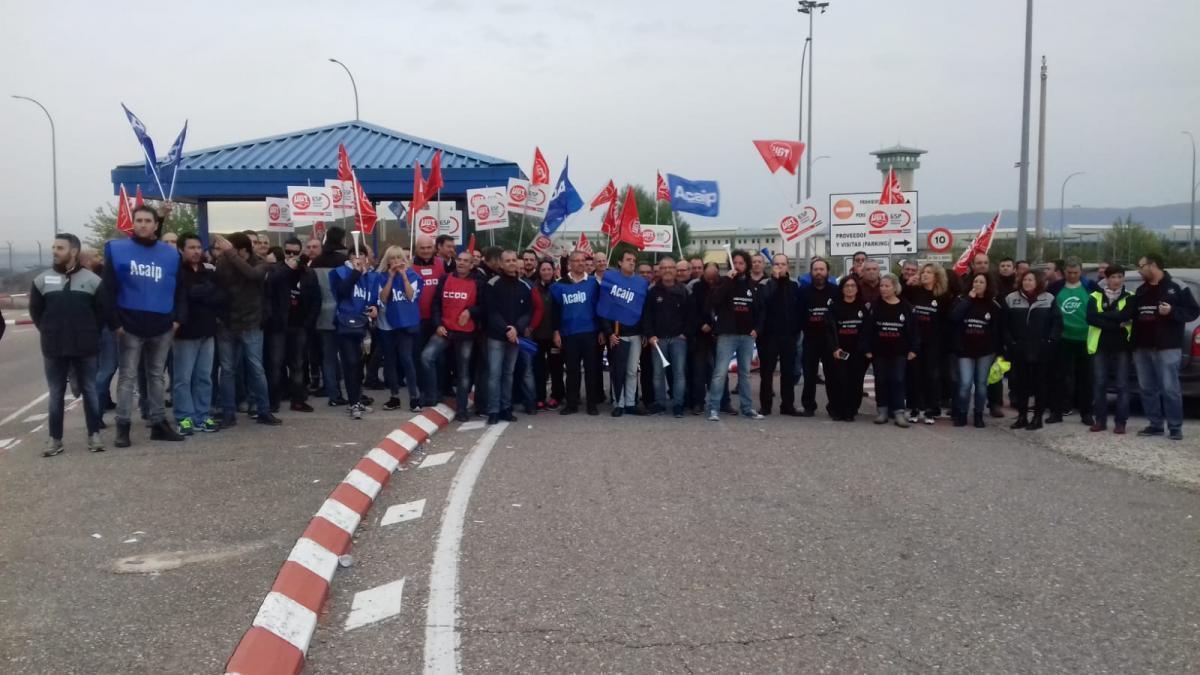 Los sindicatos consideran un éxito la segunda jornada de huelga en Prisiones
