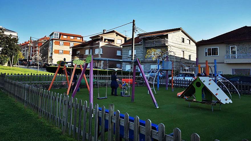Moaña permitirá el acceso de 100 personas, desde el lunes, en los parques infantiles más grandes