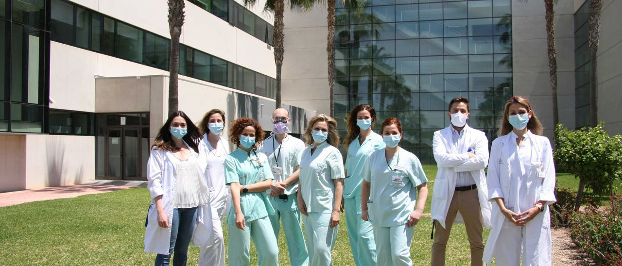 Equipo de traumatología del Hospital Universitario de Torrevieja